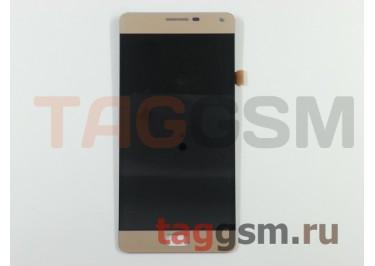 Дисплей для Lenovo Vibe P1 + тачскрин (золото)