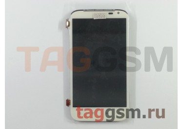Дисплей для HTC Sensation XL + тачскрин + рамка (белый), ориг