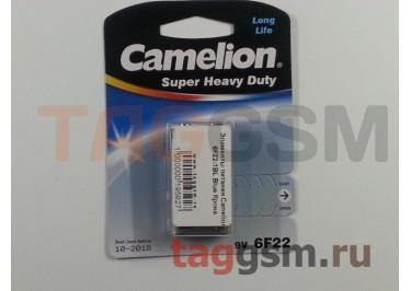 Элементы питания Camelion 6F22-1BL Blue Крона
