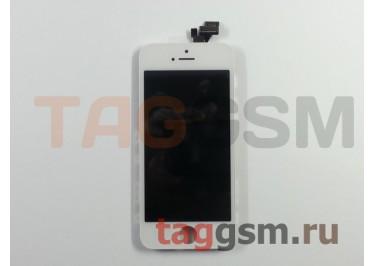 Дисплей для iPhone 5 + тачскрин белый, TG