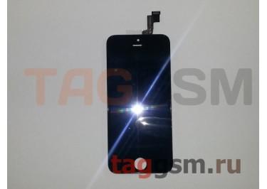 Дисплей для iPhone 5S + тачскрин черный, TG (HC)