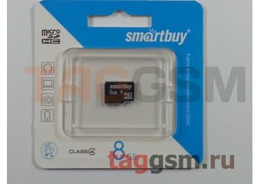 Micro SD 8Gb Smartbuy Class 4 без адаптера