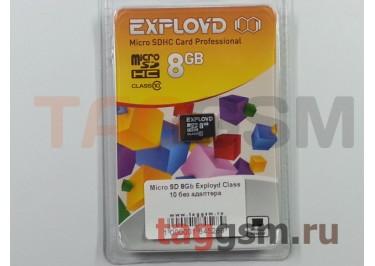 Micro SD 8Gb Exployd Class 10 без адаптера