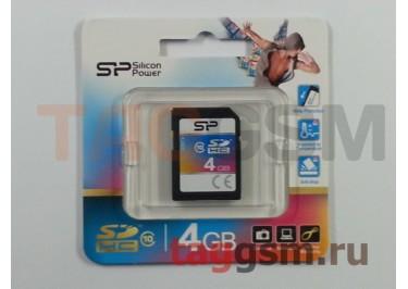 SD 4Gb Silicon Power Class 10