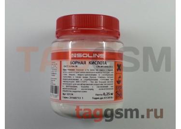 Борная кислота (Solins) 0.25кг
