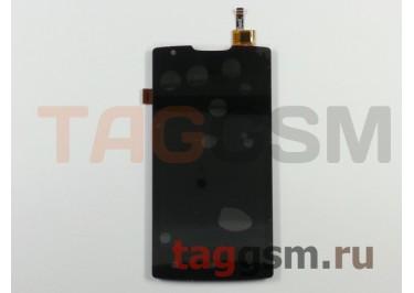Дисплей для Lenovo A1000 + тачскрин (черный) (телефон)