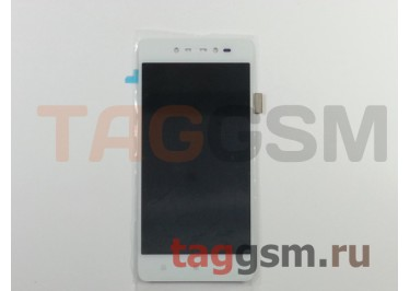 Дисплей для Lenovo S90 + тачскрин (белый)