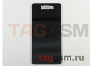 Дисплей для Lenovo A6010 / A6010 Plus + тачскрин (черный) (телефон)