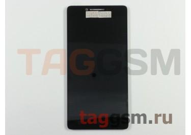 Дисплей для Lenovo K3 Music Lemon + тачскрин (черный)
