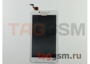 Дисплей для Lenovo A5000 + тачскрин (белый) (телефон)