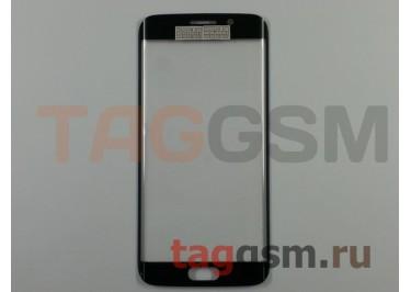 Стекло для Samsung G925F Galaxy S6 Edge (зеленый), ориг