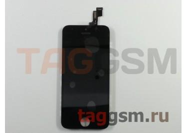 Дисплей для iPhone 5S / SE + тачскрин черный АА (без гарантии)