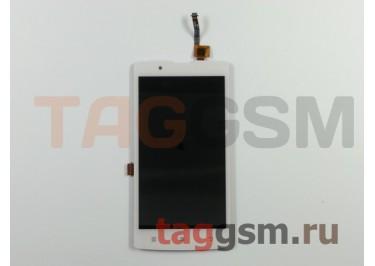 Дисплей для Lenovo A2010 + тачскрин (белый) (телефон)