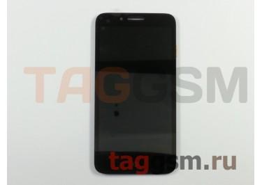 Дисплей для Alcatel OT-7048X + тачскрин (черный)