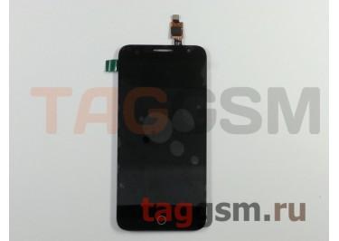 Дисплей для Alcatel OT-6015X + тачскрин (черный)