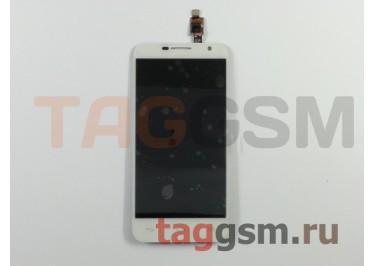 Дисплей для Alcatel OT-6014X + тачскрин (белый)