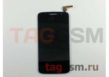 Дисплей для Alcatel OT-7044Y + тачскрин (черный)