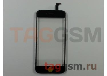 Стекло + тачскрин + рамка для iPhone 6 (черный), (олеофобное покрытие) ААА
