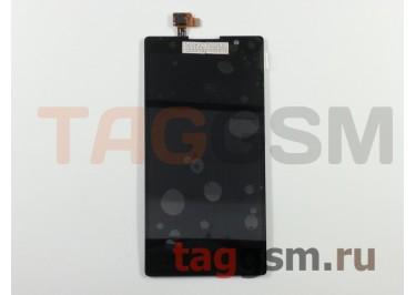 Дисплей для Lenovo P90 + тачскрин (черный)