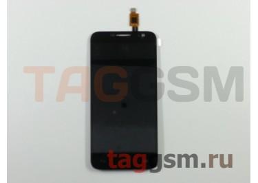 Дисплей для Alcatel OT-6014X + тачскрин (черный)