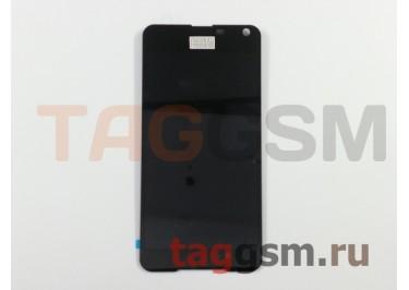 Дисплей для Microsoft 650 Lumia + тачскрин (черный)