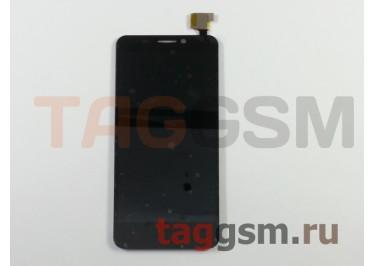 Дисплей для Alcatel OT-6035 Idol S + тачскрин (черный)