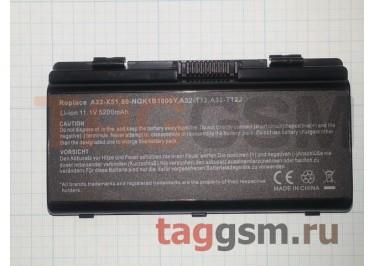 АКБ для ноутбука Asus X51 / X51R / X51RL / X51H / X58 / X51L / X58C / T12, 4400mAh, 11.1V (A32-X51 / A32-T12 / 90-NQK1B1000Y)