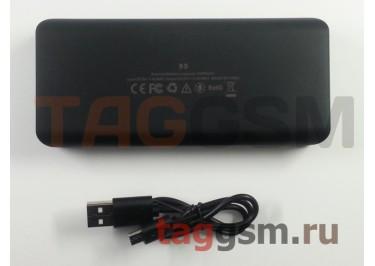 Портативное зарядное устройство (Power Bank) (HSW-5S, 1USB выход 2000mAh) Емкость 10000mAh (черное)