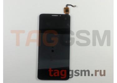 Дисплей для Alcatel OT-6043D Idol X+ + тачскрин (черный)