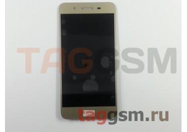 Дисплей для Huawei GR3 + тачскрин (золото)