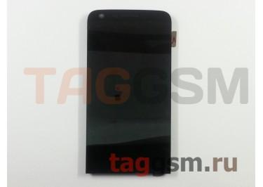 Дисплей для LG H845 G5 SE в рамке + тачскрин (черный)