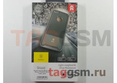 """Задняя накладка Baseus для iPhone 7 Plus 5.5"""" (Shield Case), серая"""