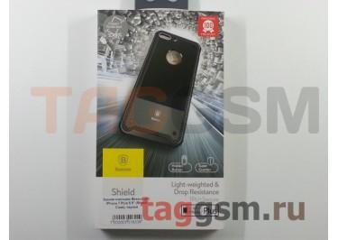 """Задняя накладка Baseus для iPhone 7 Plus 5.5"""" (Shield Case), черная"""