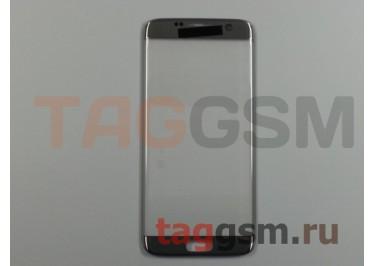 Стекло для Samsung G935 Galaxy S7 Edge (серебро), ААА