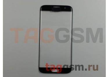 Стекло для Samsung G935 Galaxy S7 Edge (черный), ААА