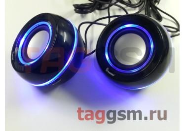 Колонки мультимедийные SmartBuy UFO OPERA, мощностью 6Вт, USB, LED-подсветка (SBA-1400)