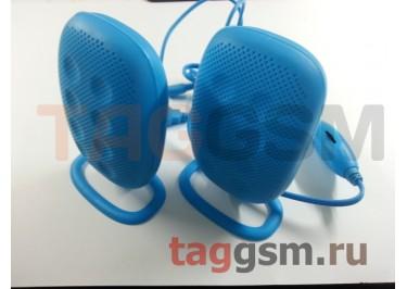 Колонки мультимедийные SmartBuy ELECTRA, мощность 6Вт, USB, синие (SBA-3130)