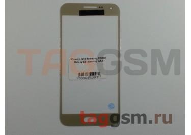 Стекло для Samsung E500H Galaxy E5 (золото), AAA