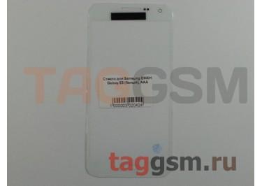 Стекло для Samsung E500H Galaxy E5 (белый), AAA