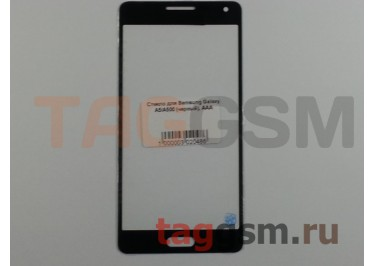 Стекло для Samsung Galaxy A5 / A500 (черный), AAA