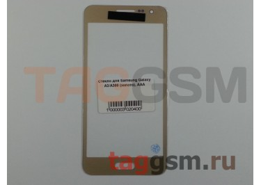 Стекло для Samsung Galaxy A3 / A300 (золото), AAA