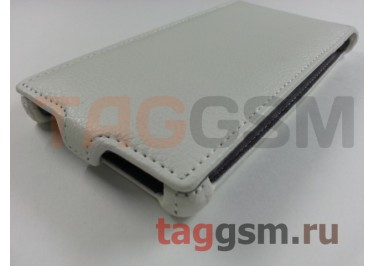 Сумка футляр-книга Armor Case для Lenovo K900 (белая в коробке)