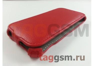 Сумка футляр-книга Armor Case для Alcatel 6039Y Idol 3 (красная в коробке)