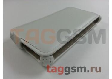 Сумка футляр-книга Armor Case для LG H422 Spirit (белая в техпаке)