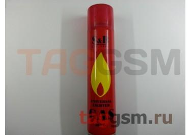 Газ для заправки зажигалок S&B (300мл)