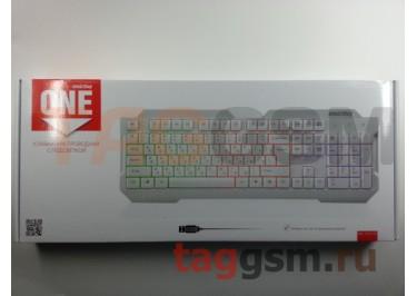 Клавиатура проводная Smartbuy с подсветкой 332 USB White (SBK-332U-W)