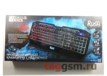 Клавиатура проводная Smartbuy мультимедийная игровая 304 USB Black (SBK-304GU-K)