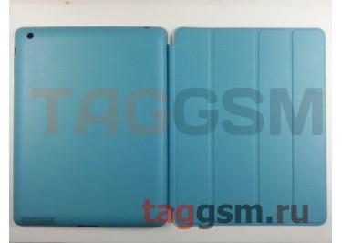 Сумка футляр-книга Smart Case для Apple iPad 2 / 3 / 4 без логотипа (голубой)