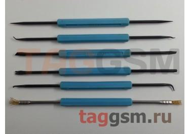 Набор вспомогательных инструментов для пайки GOOT SA-10 (6 в 1)