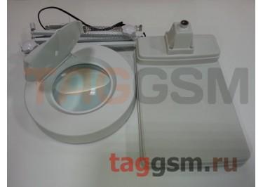 Лампа с лупой и подсветкой YAXUN YX-188C